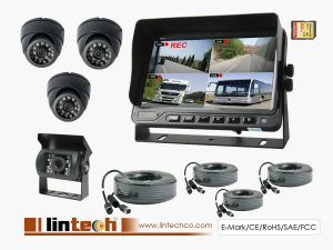 7 Inch DVR Monitor System For City Bus