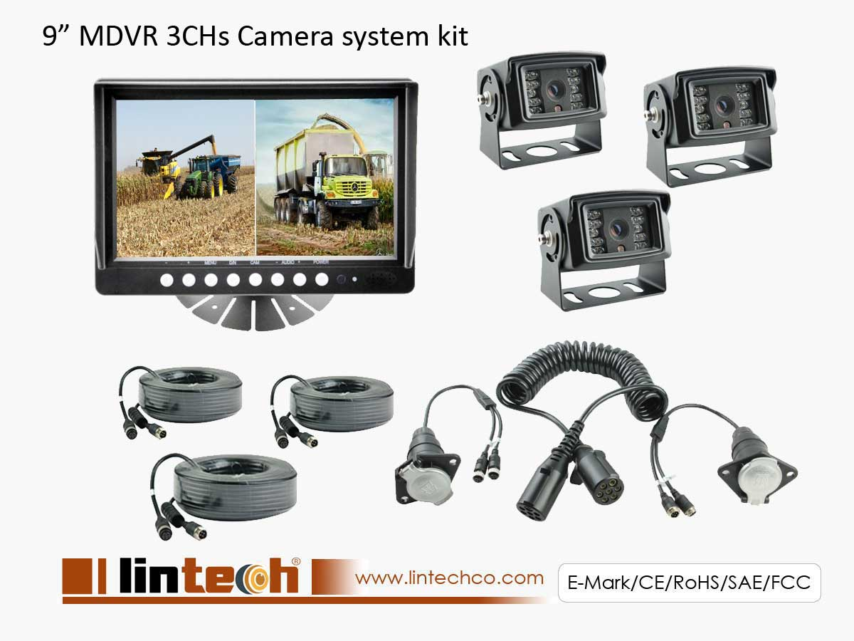 For Farm Machinery Rearview Cameras System