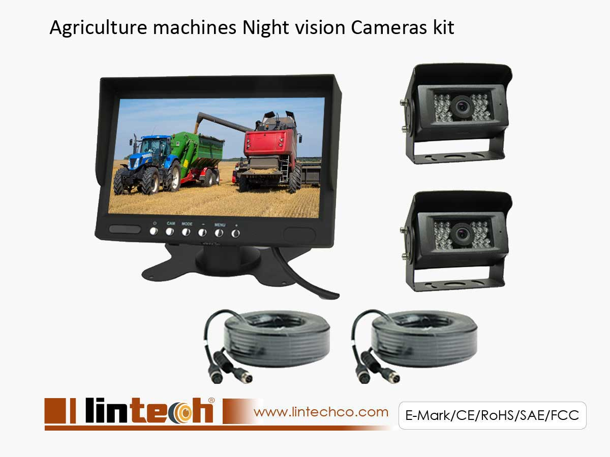 Agriculture Machines 2CHs Cameras System
