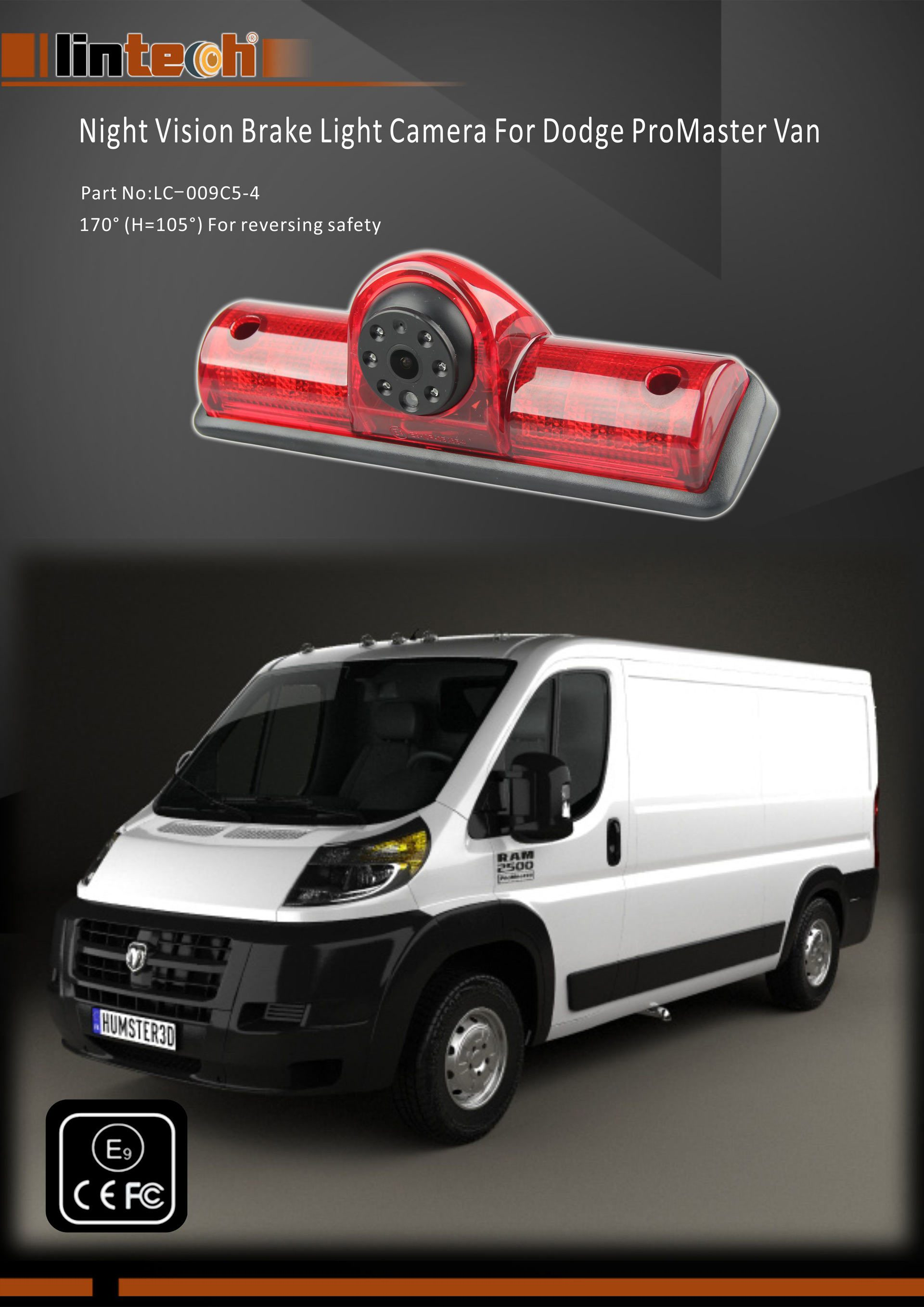 1. Backup Camera for Dodge ProMaster
