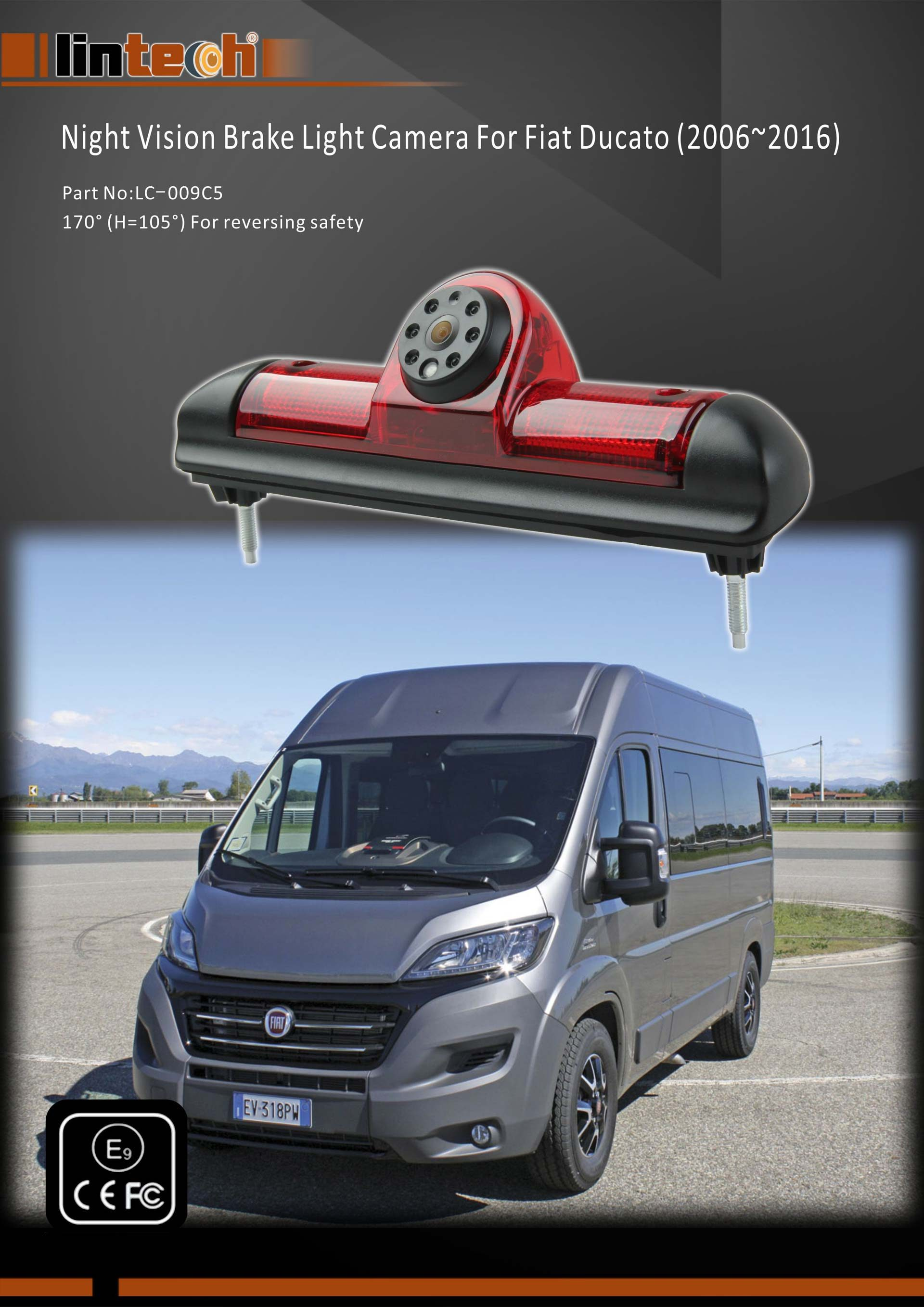 1. Brake Light Camera for Fiat Ducato