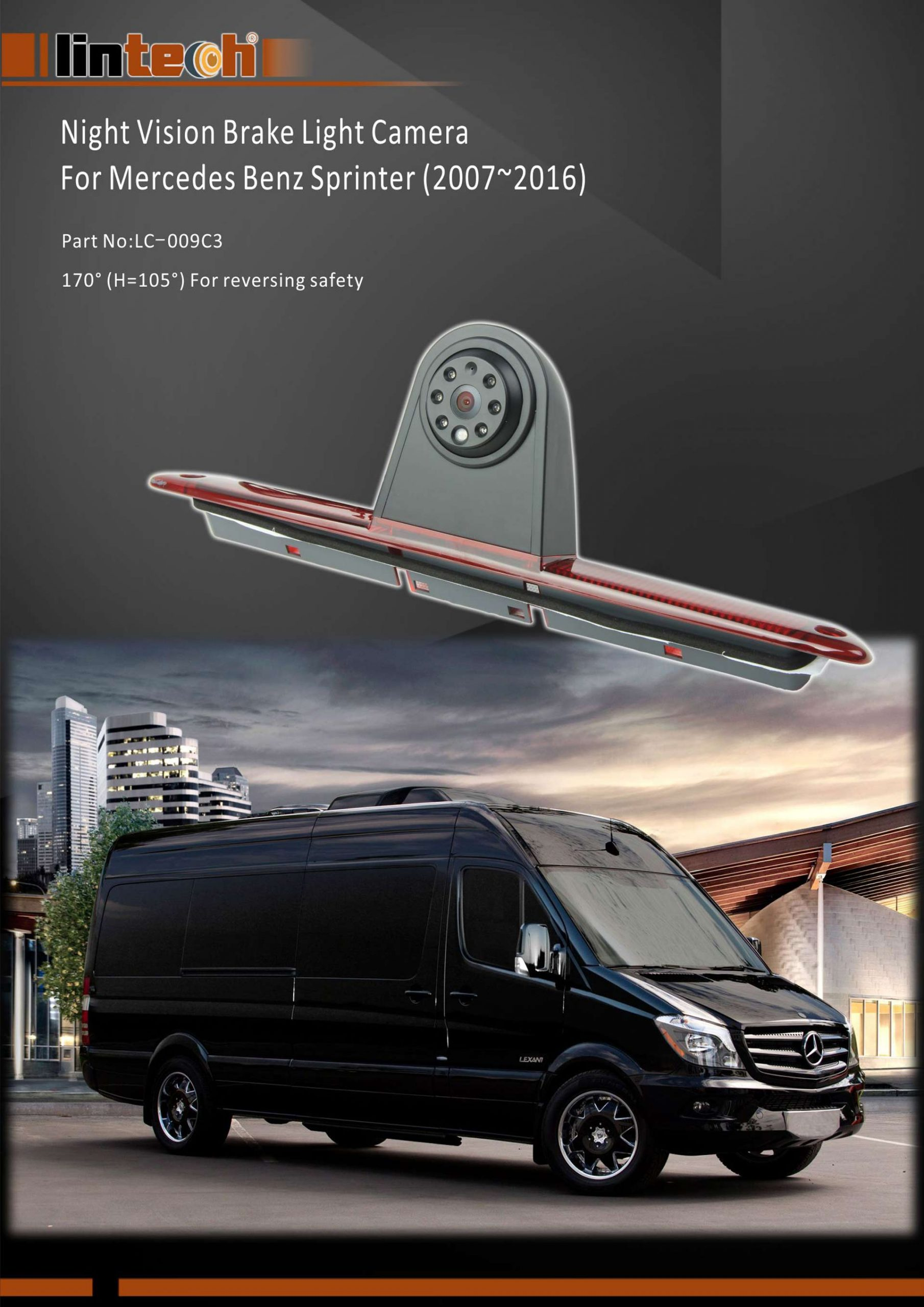 1. Night Vision Brake Light Camera for Mercedes Benz Sprinter