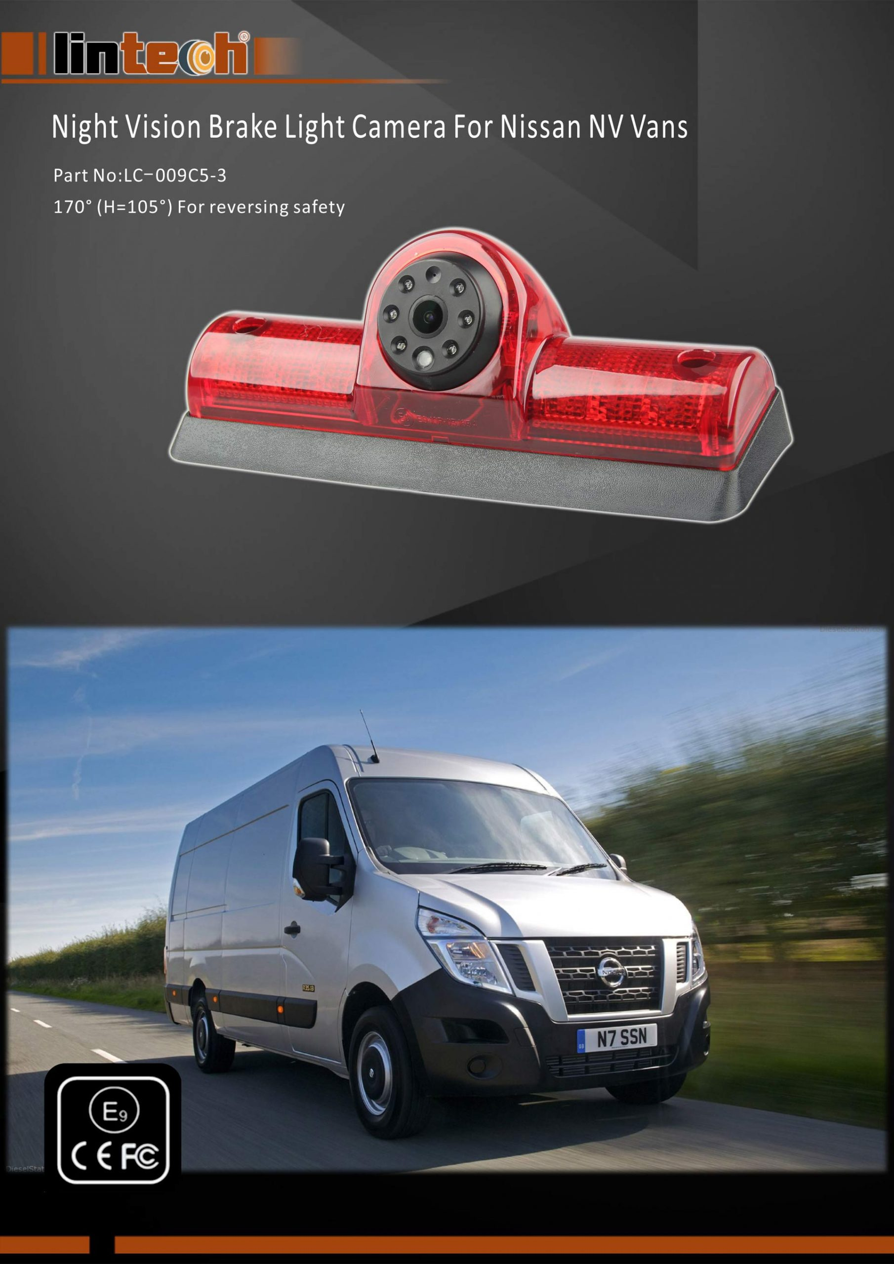 1. Nissan NV Vans Backup Camera