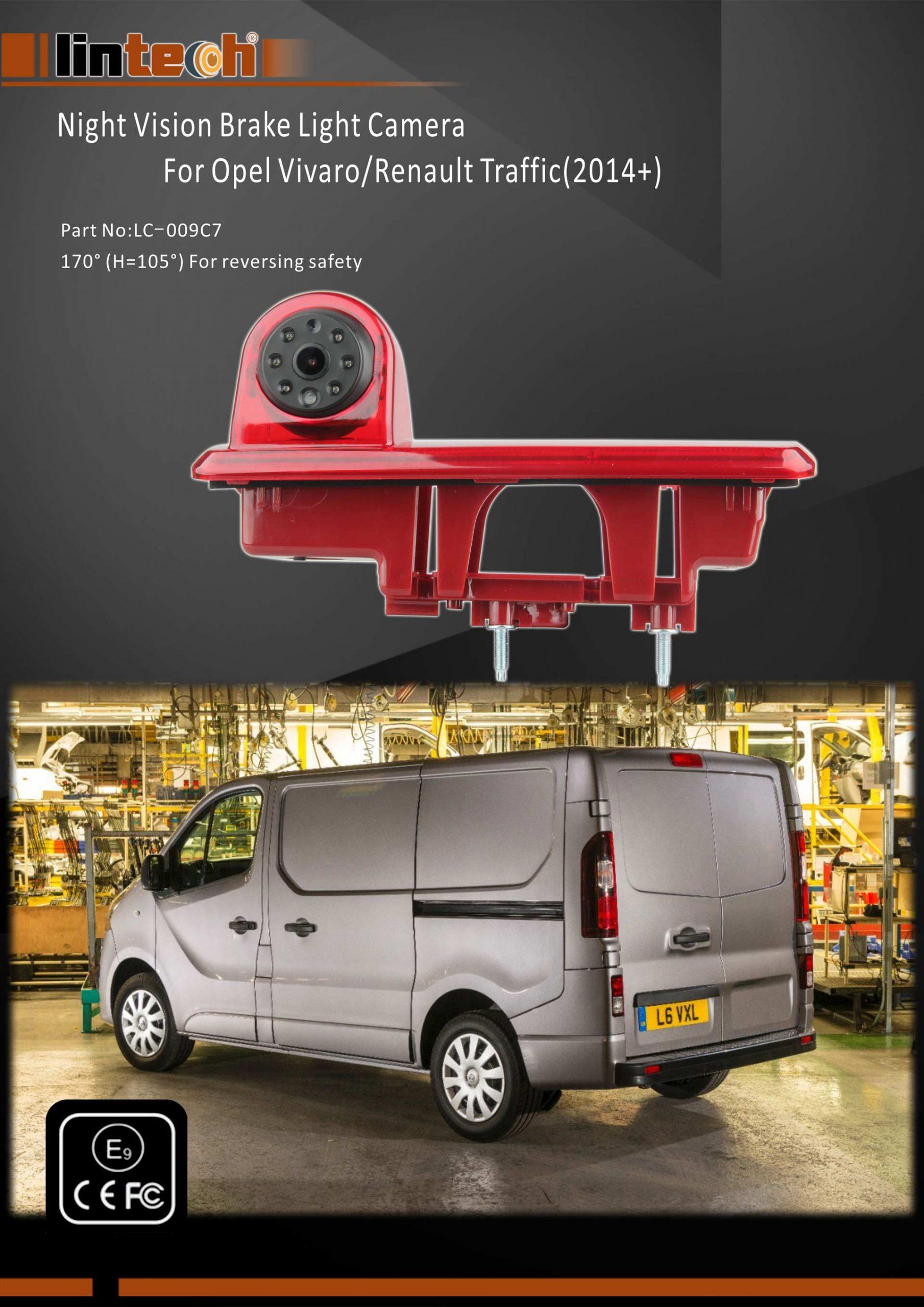 1. Opel Vivaro Backup camera