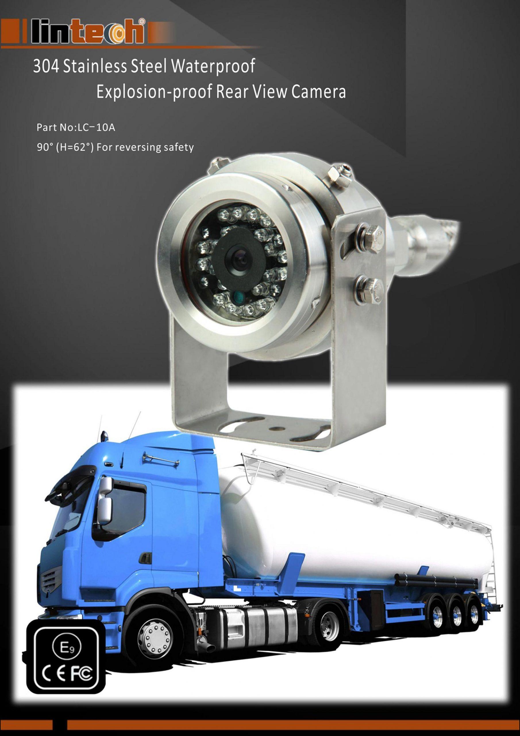 1..304 Stainless Steel Waterproof Explosion-proof Rear View Camera