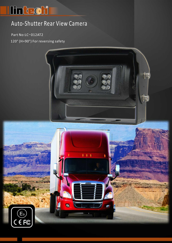 1.Auto-Shutter Rear View Camera