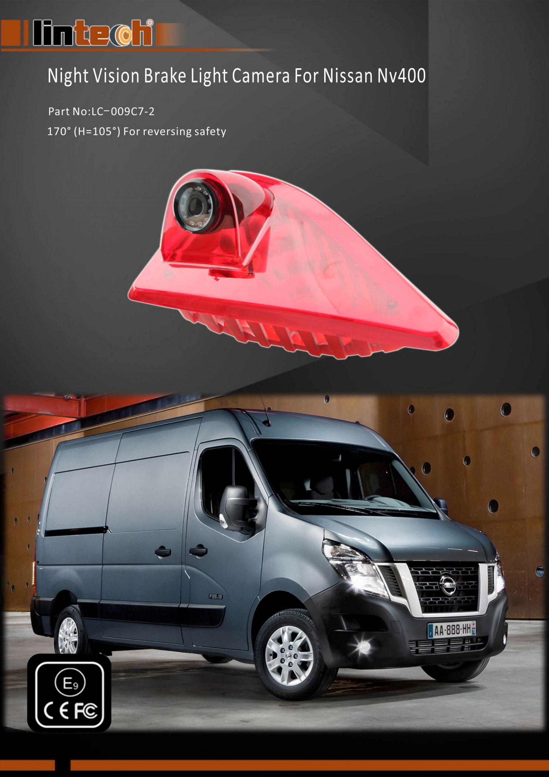 1.Night Vision Brake Light Camera For Nissan NV400