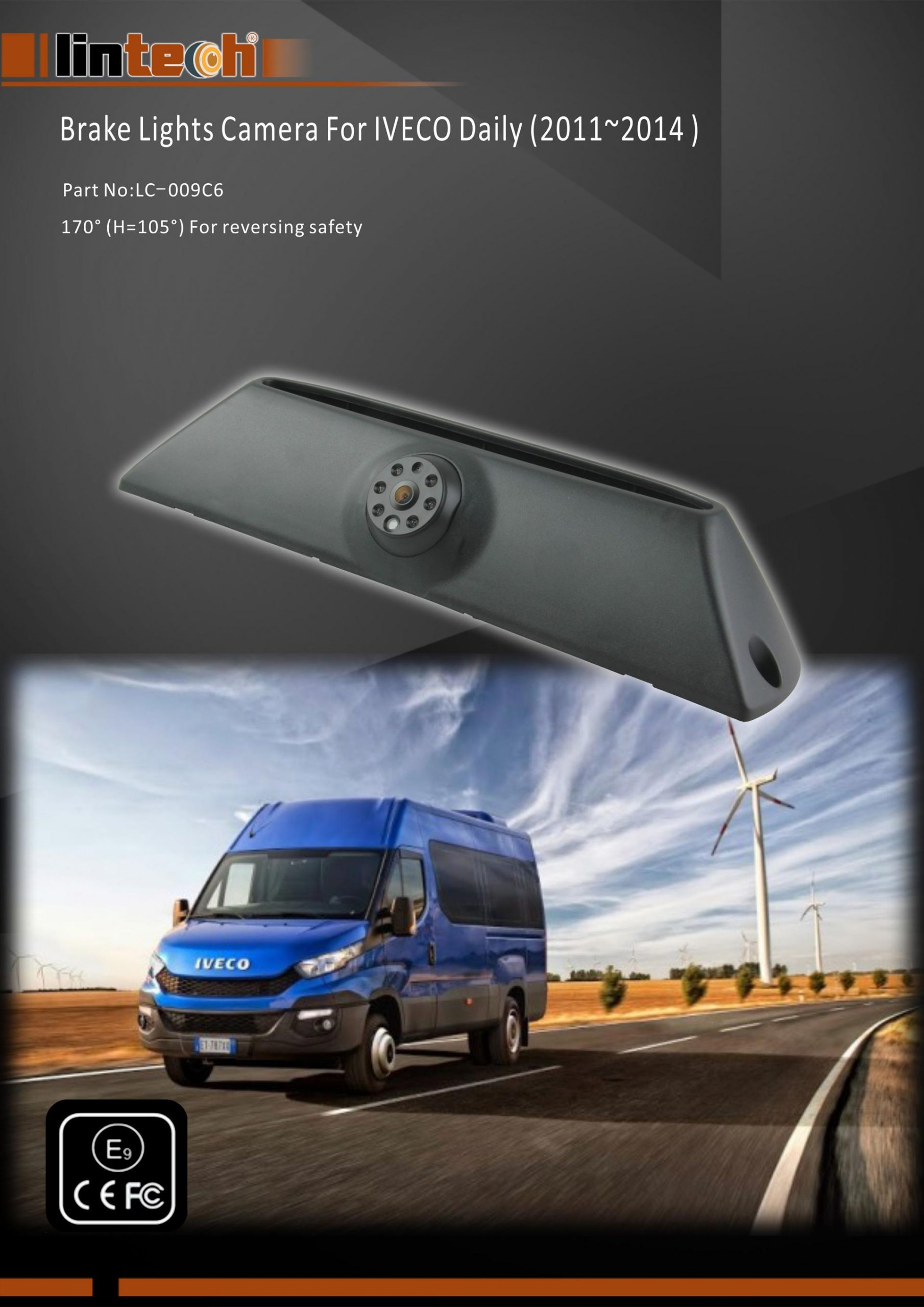 1.Rear View Camera For IVECO Daily