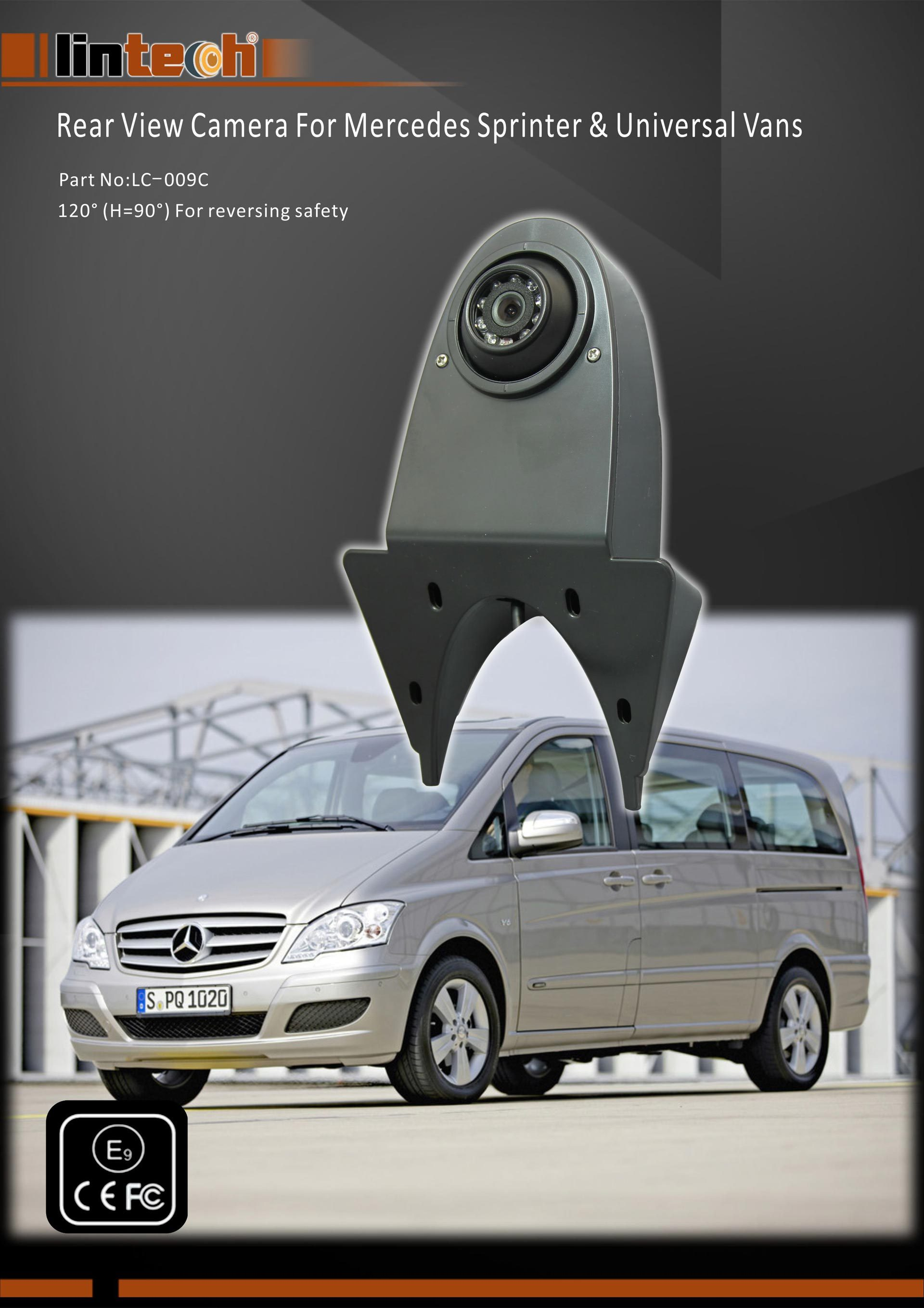 1.Rear View Camera For Mercedes Sprinter & Universal Vans