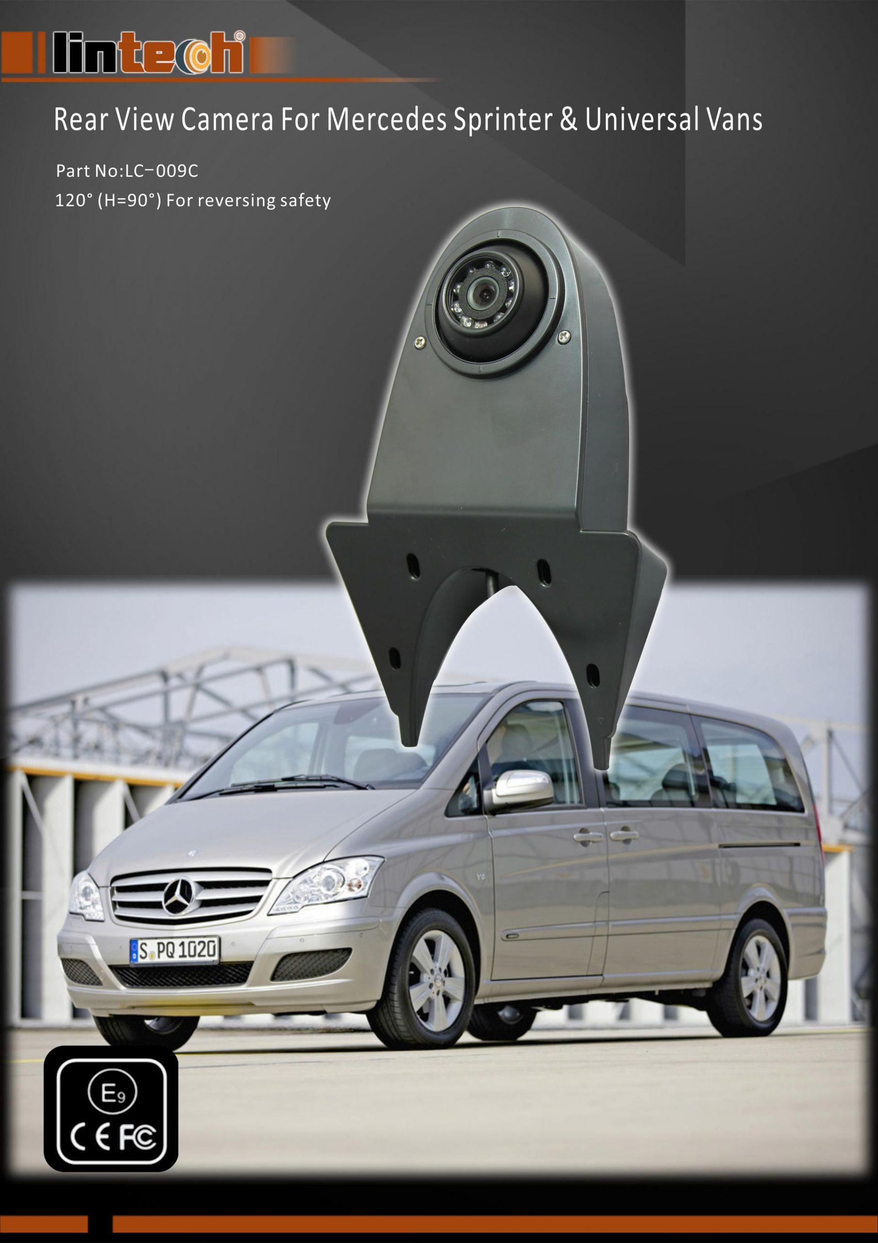 1.Rear View Camera For Mercedes Sprinter & Universal Vans