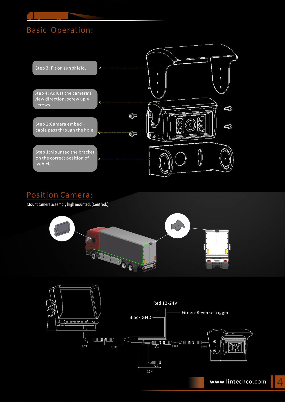 4. Backup camera auto shutter