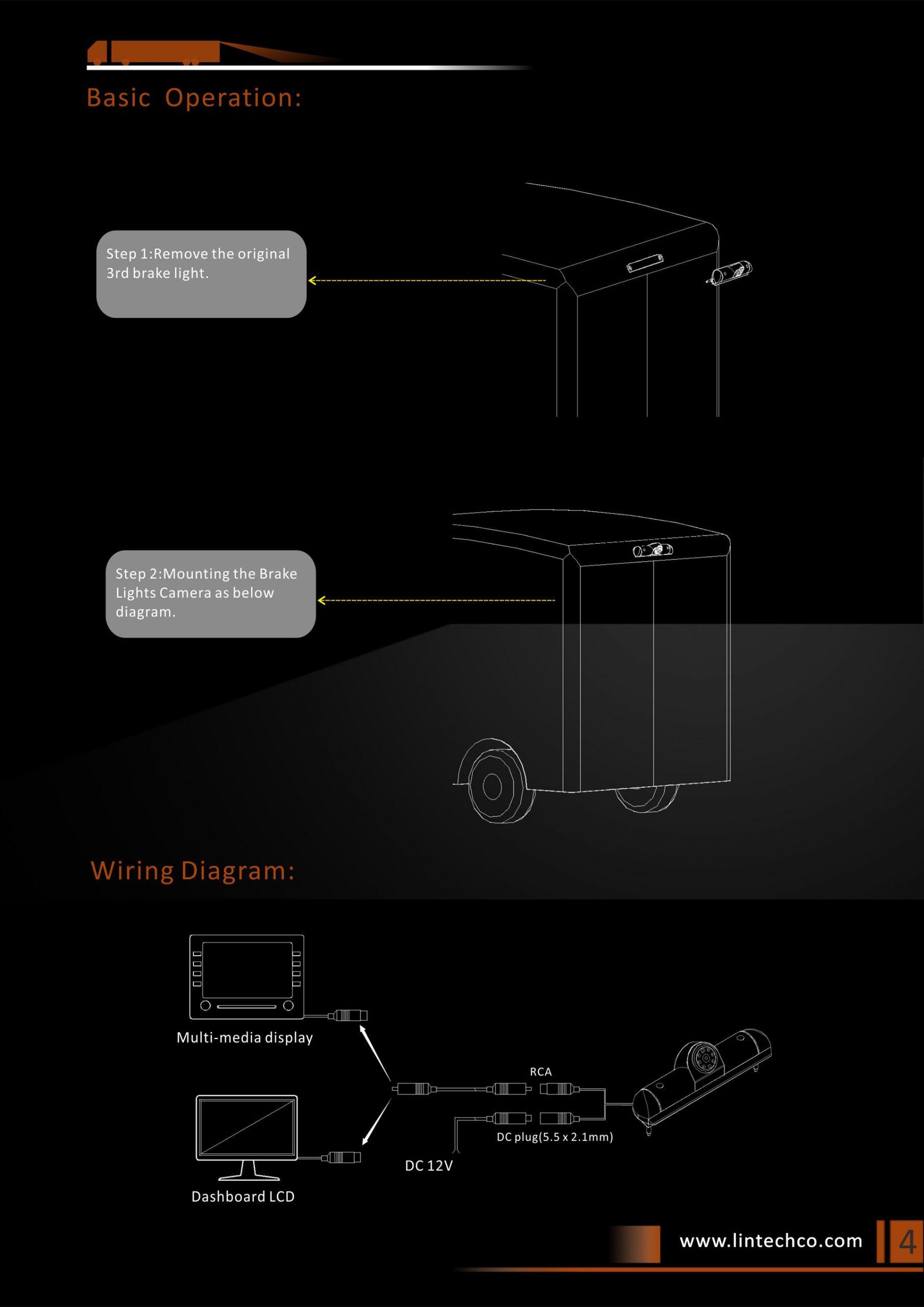4. Fiat Ducato Rear View Camera