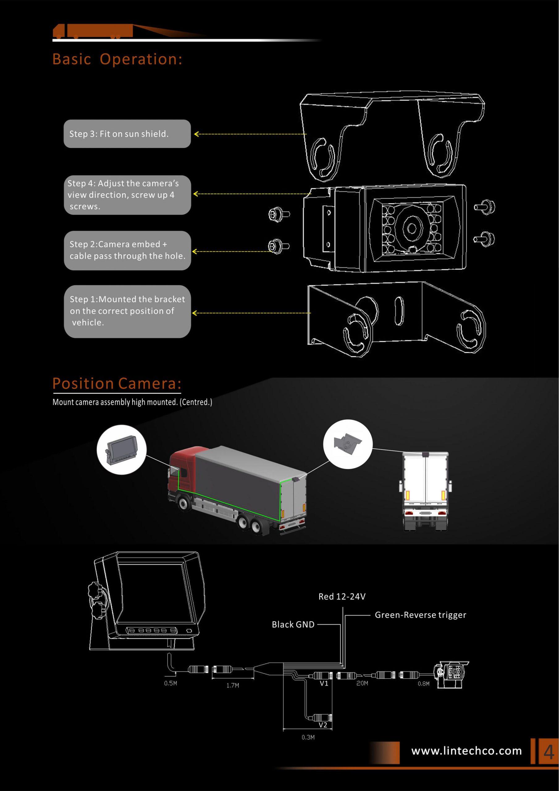 4.Heavy-Duty-18pcs-IR-LED-Night-Vision-IP69K-Waterproof-Backup-Camera