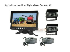 Agriculture Machines 2CHs Car Rear View System, LAM-02
