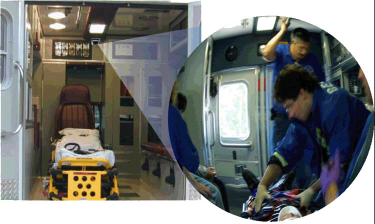 Ambulance camera installed