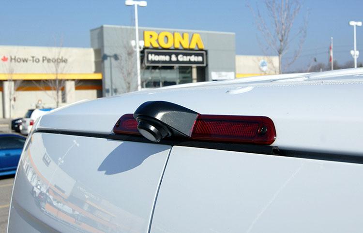 Brake light Rear view Camera system solution for Ambulance