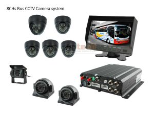 8 Channel Car DVR Camera System for City Bus, LTB-05