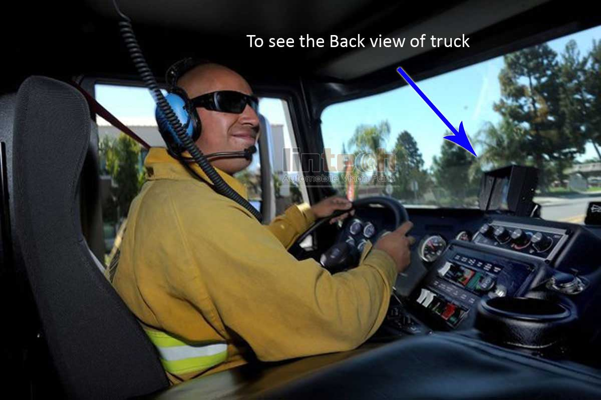 Fire Truck Lcd Monitor Installation on backup camera installation