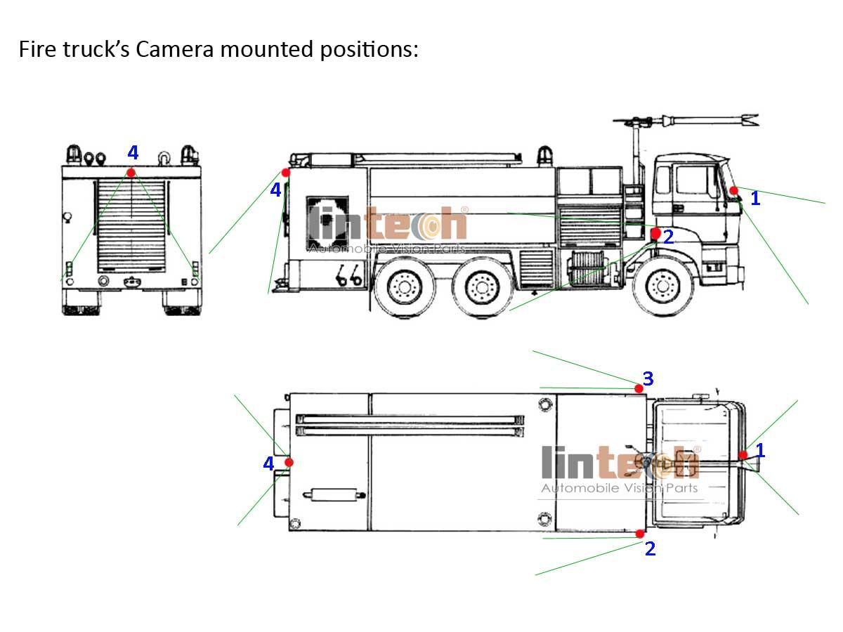 34 Parts Of A Fire Truck Diagram