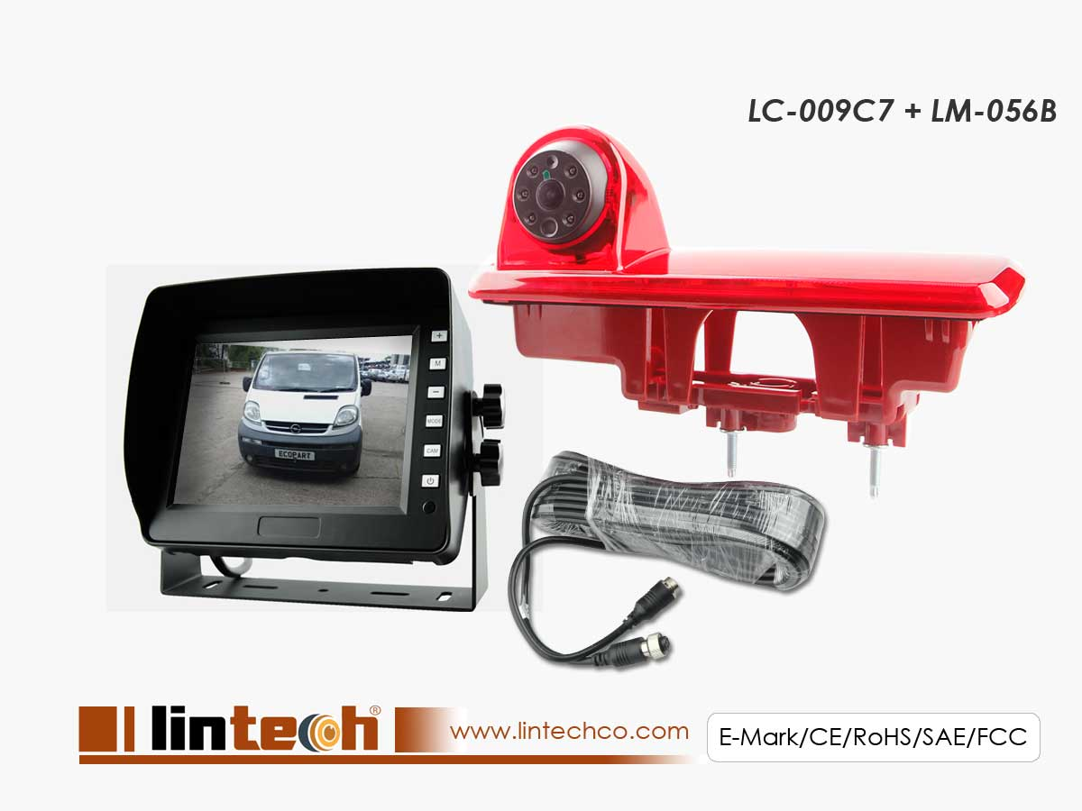 Rear View System For Opel Vivaro & Renault Trafic 2014 Year