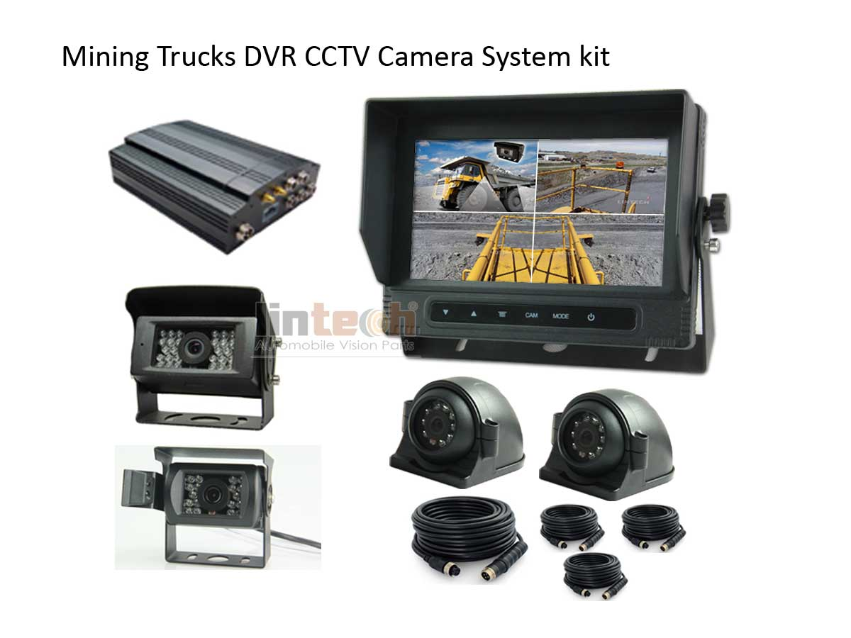 Mining-Trucks-DVR-CCTV-Camera-System-kit