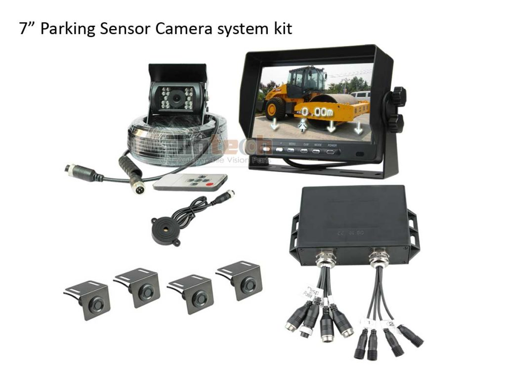 Parking-sensor-Camera-system-for-Construction-machines