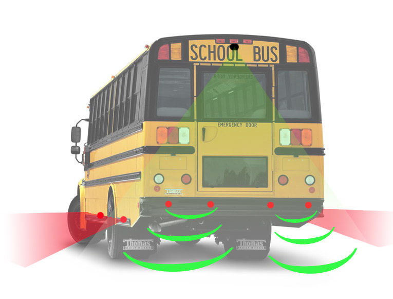 school bus parking sensor