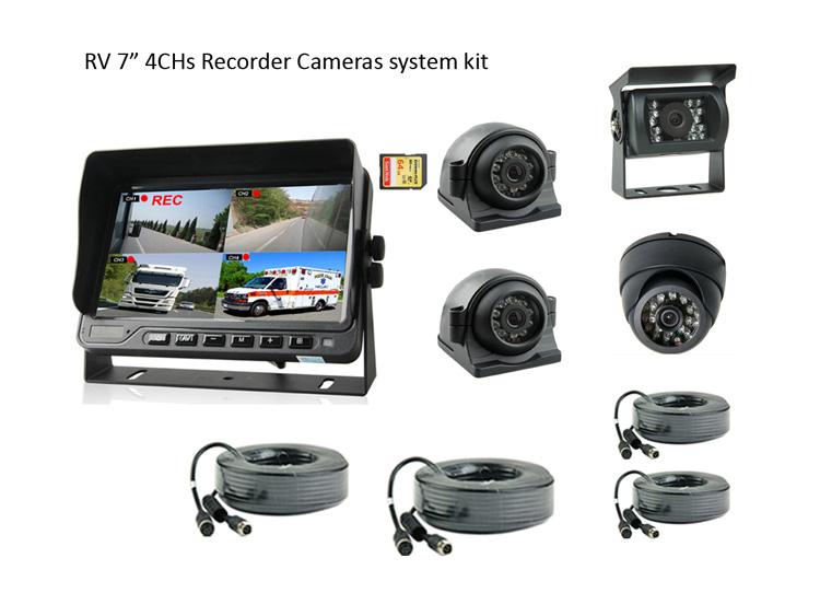 Motorhome CCTV Caemra system