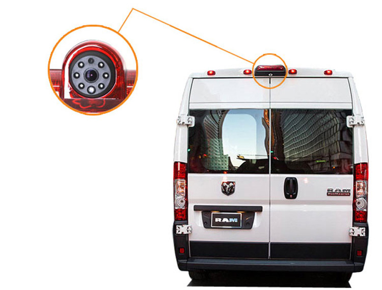 Dodge RAM ProMaster 3rd Brake Light Reversing Camera