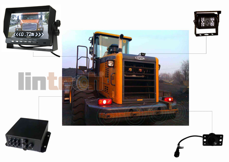 Forklift Parking sensor Rear Vision camera system