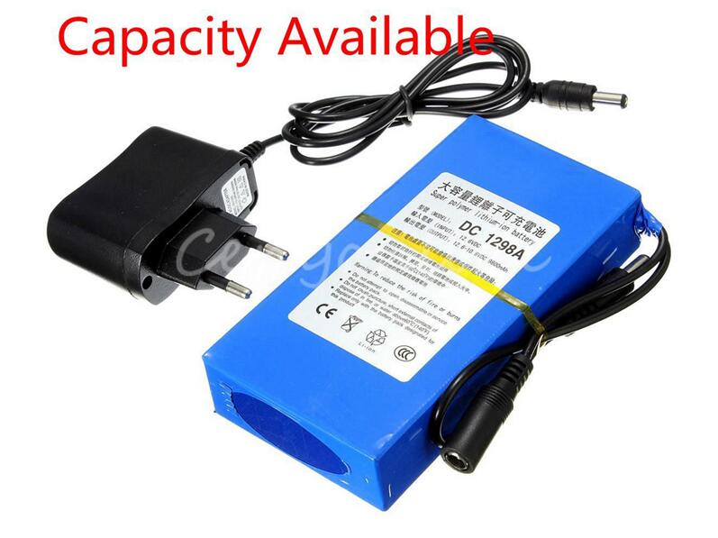 Rechargeable battery for Front view camera