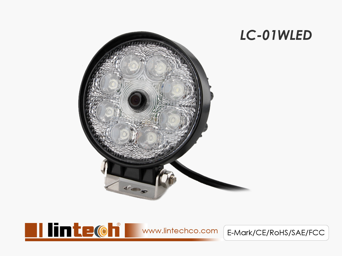 Work Lamp Camera With LED Lights for Harvesters, Tractor, Forklift, lift trucks