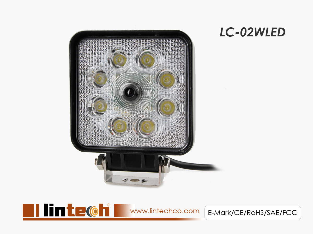 Work light LED Camera with 140 degree wide view angle lens for Harvesters, Forklift