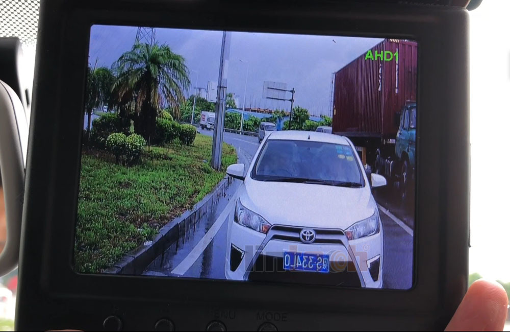 """30 degree Narrow Angle Camera with 7"""" Monitor to Replace mid-mirror"""