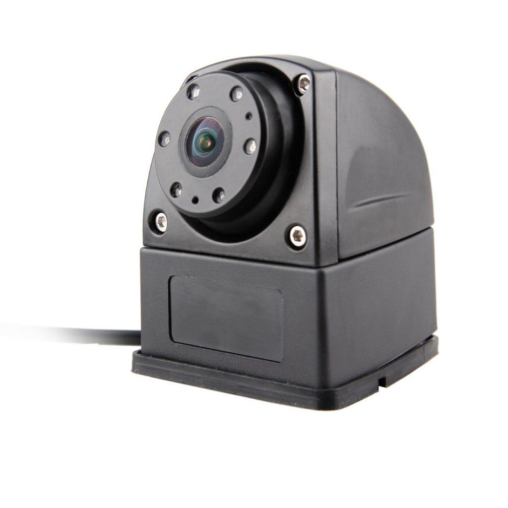 Wedge base for mini side camera